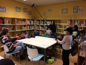 Reportage à la bibliothèque